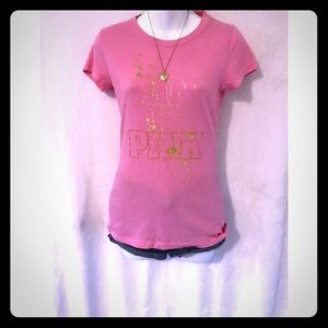 VS PINK short sleeve T-shirt